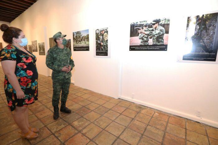 """Presentan exposición """"La Gran Fuerza de México"""""""