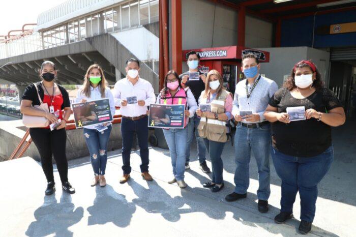 DIFUNDEN EN GUADALUPE INFORMACIÓN DE APOYO PARA PREVENIR SUICIDIOS
