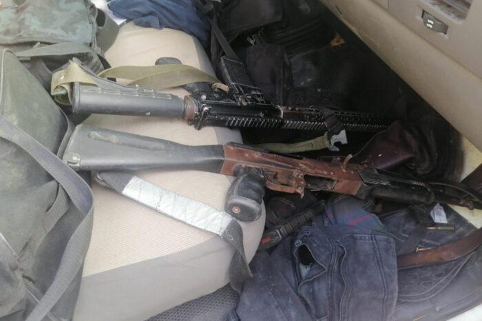Detienen a hombre por portación de arma de fuego