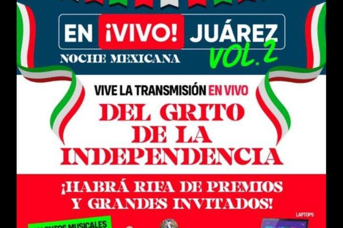 INVITAN A DAR EL GRITO DE INDEPENDENCIA DE MANERA VIRTUAL EN JUÁREZ NUEVO LEÓN