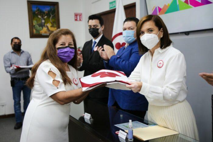 REACTIVAN ENTREGAS DE BANDERA DE LA PAZ EN ESCUELAS DE GUADALUPE