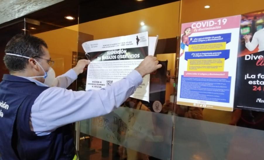 Aplican suspensión a cuatro casinos en Nuevo León