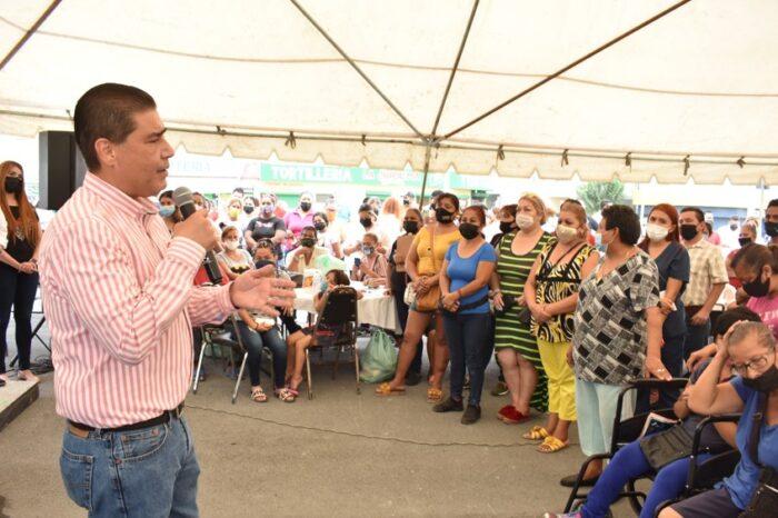 INICIAN EN JUÁREZ MEGA BRIGADAS PARA APOYAR LA SALUD Y ECONOMÍA DE LAS FAMILIAS