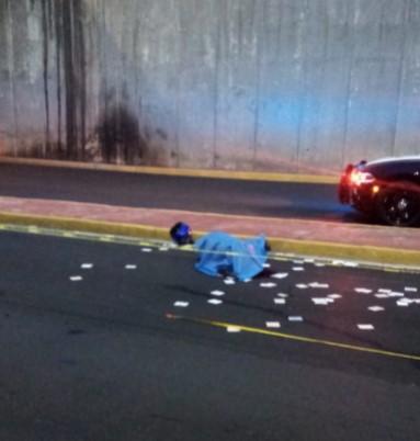 Fallece motociclista tras accidente en Avenida  Rangel Frías